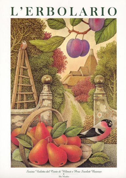 Calendario 2000 L'Erbolario - Acquerelli di Franco Testa