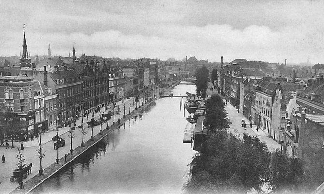 In de loop der jaren: De Coolsingel Rotterdam ca. 1905