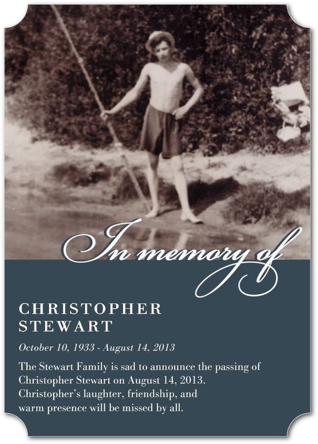 A photo memorial card is the perfect way to eternalize your loved one and celebrate their life with a keepsake.