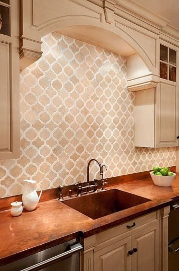 Kitchen Backsplash - giraffesgarlicglamour.com