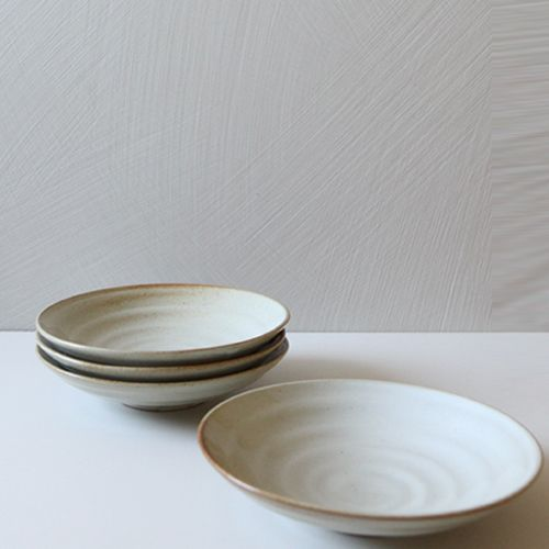 Casual line Oatmeal Round bowl 24, set of 4 / $86.00