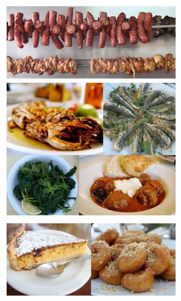 Greek food is so much more than souvlaki and gyros. | Community Post: 49 Reasons To Love Greece