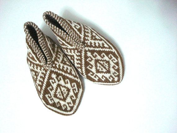 womens slippers, crochet slippers milky brown cream, coffee with milk cream flats adult slippers, womens home shoes, gifts for her for women...