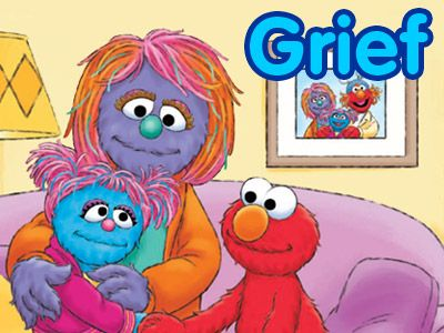 Sesame Street tackles grief - several good resources on the website, including videos and books you can download in English and Spanish.
