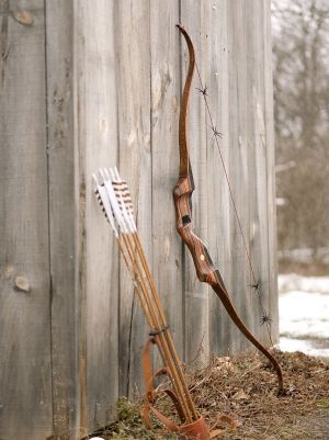 Traditional archery. #Recurve #Bowhunting