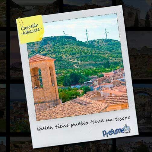 Pueblos de España: Carcelén (#Albacete) ¿Es el tuyo? Síguenos en www.facebook.com/presumede y #presumede pueblo www.presumede.blogspot.com #carcelén #pueblosdealbacete #pueblosdecastillalamancha #castillalamancha #pueblos