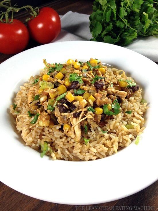 ... , Healthy Recipes, Crock Pot Recipes, Eating Crock, Santa Fe Chicken