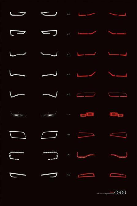 Audi Alphabet – Graphis