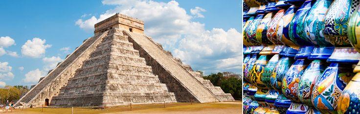 Fra aztekerne til mayaene - rundreise i Mexico med Solia