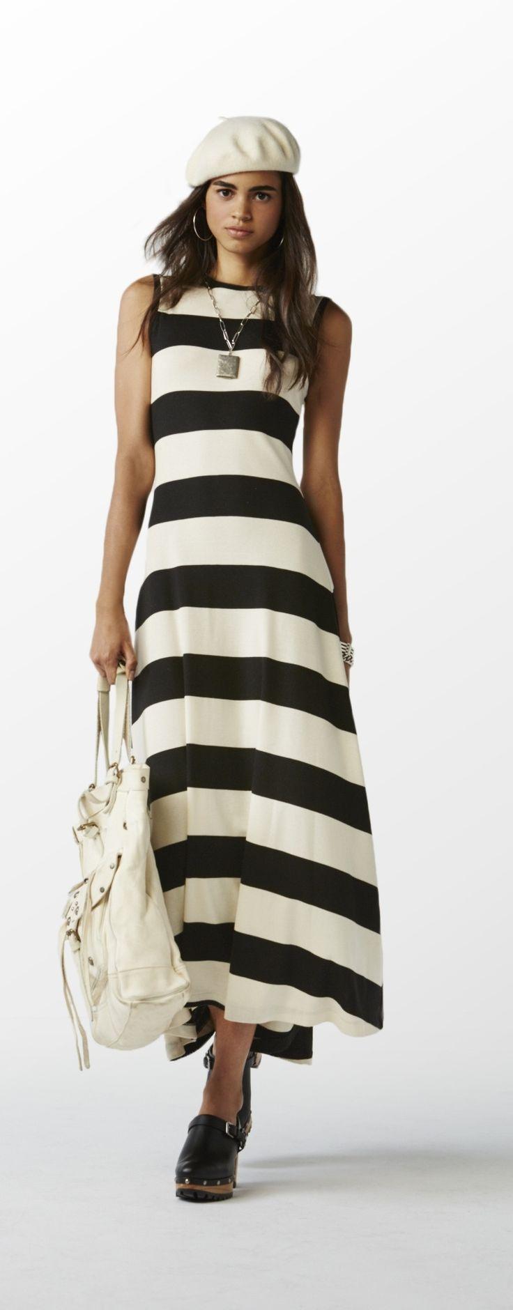 The Polo Ralph Lauren Maxi Dress: This season\u0026#39;s essential transition piece