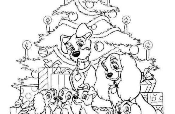 Dibujos De Navidad Para Colorear De Disney Channel Coloring Pages Color Art