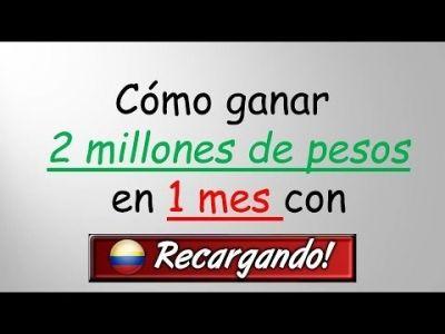 Recargas a Celulares solo residentes en Colombia.