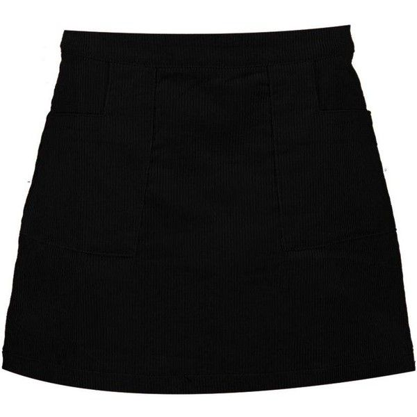 Boohoo Harlow Cord A Line Mini Skirt ($20) ❤ liked on Polyvore featuring skirts, mini skirts, a-line maxi skirts, short mini skirts, cotton maxi skirt, midi skirts and pleated a line skirt