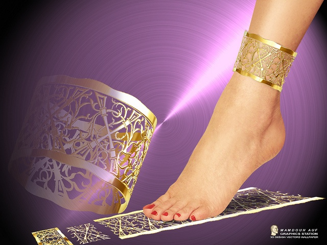 anklet by mamdouh auf, via Flickr