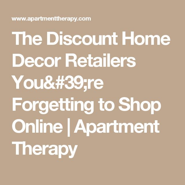 Discount Home Retailers You Re Forgetting To Shop Online