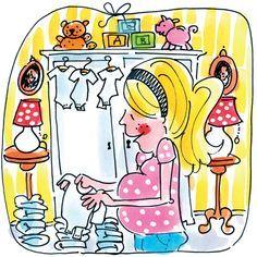 #zwangerschapsverlof #zwanger #nesteldrang #BlondAmsterdam