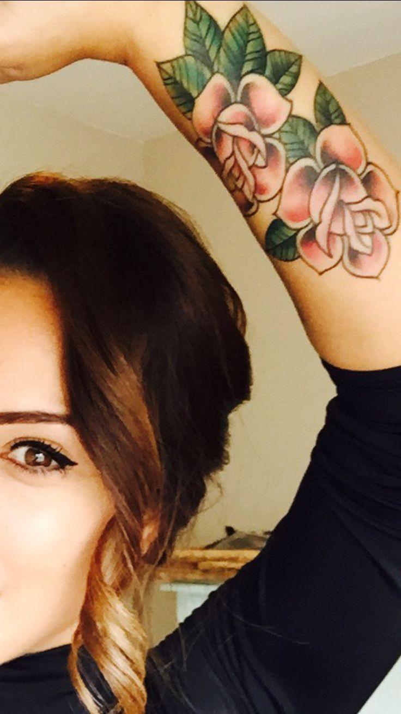 Forarm tattoo