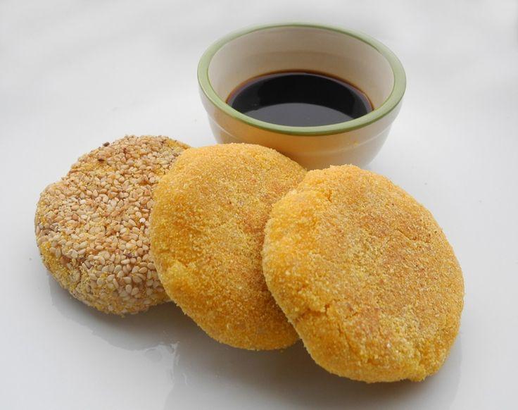 Crocchette di riso integrale e zucca. Facili e veloci, senza glutine.