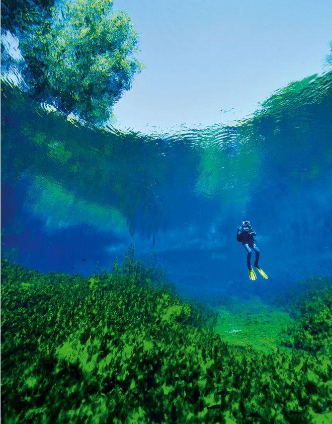 Su altı sporlarıyla uğraşanlar tarafından dalış için tercih edilen gölde, zaman zaman dalış eğitimleri de veriliyor.