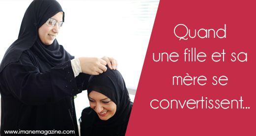 Quand une fille puis sa mère se convertissent à l'islam… Un joli témoignage qui fait écho à notre magazine Et la da'wa dans tout ça ?. SoubhanALLAH ne sous-estimons pas l'importance des petits gestes qui peuvent faire la différence chez un non-musulman. Notre comportement se doit d'être exemplaire.