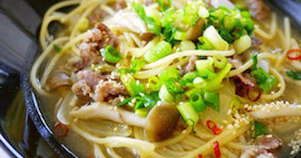 【うどんスープの素で】ダシ香る「和風ワンポットパスタ」が簡単&おいしい! | クックパッドニュース