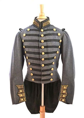 Civil War Era 7th Regiment New York National Guard Coat 1850's SCOVILL Buttons