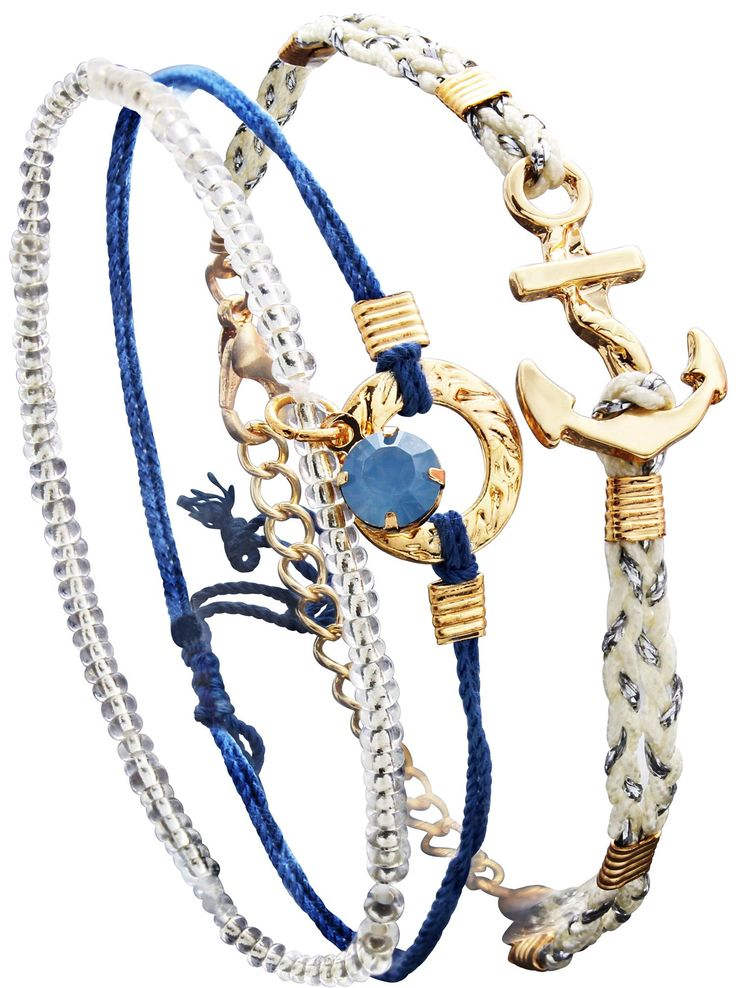 Bijou brigitte braccialetti set blue ocean love boat party pinterest blue armband and Bijoux brigitte catalogue