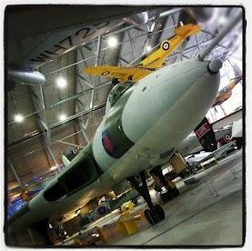 Duxford IWM Cambridge the vulcan bomber!