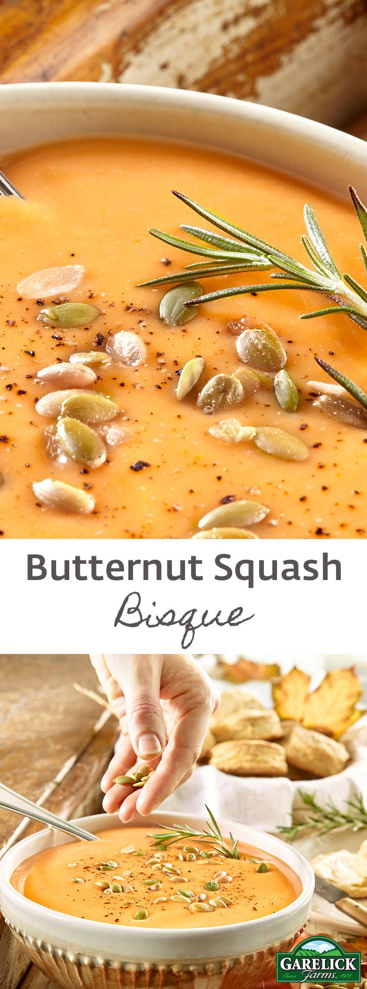 Low in fat but high in fiber, potassium and Vitamin A. This rich and hearty soup is made extra creamy with potatoes and whole milk.