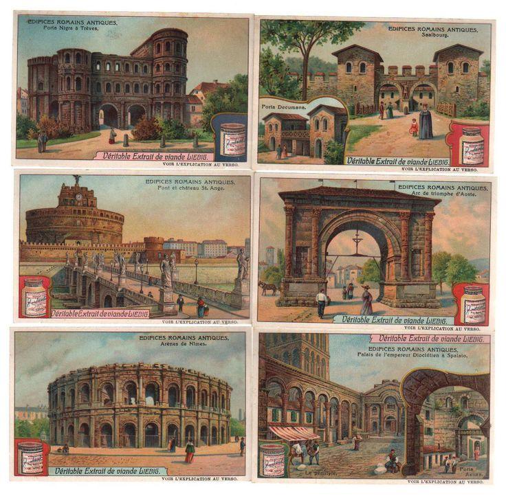 Antike Rom antiquity Sanguinetti 923 Lithographie lithograph Liebig | eBay