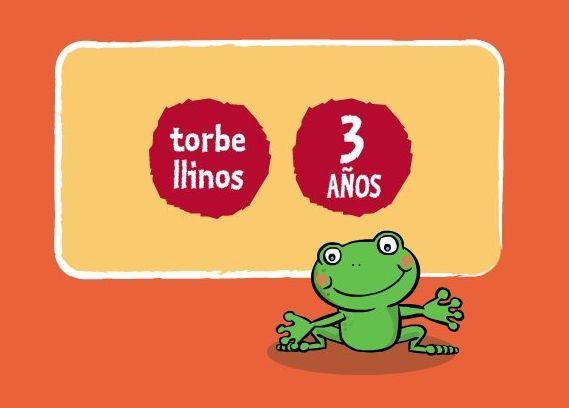 """""""Torbellinos"""" de 3 años, de Editorial Casals, trabaja todas las áreas y aspectos didácticos del nivel de educación infantil, en relación con sus libros de texto, dividido en tres trimestres y cuatro apartados temáticos: Entorno, Matemáticas, Lengua y Manejo del ratón."""