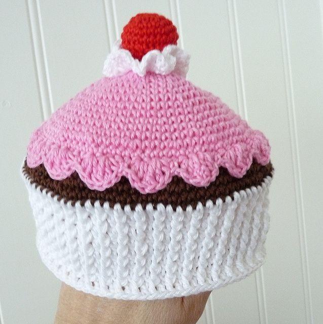 cute cupcake hat