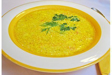 Суп из плавленого сыра