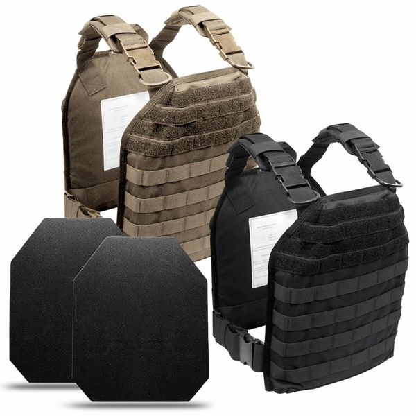 Shooter's Special - Modular Plate Carrier + 2x NIJ Level IV Plates