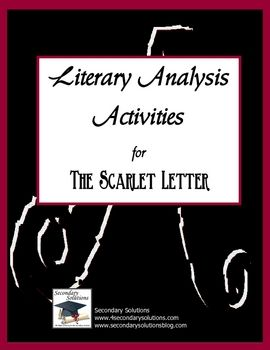 best the scarlet letter ideas the scarlet  complete set of standards focus activities for getting the most out of teaching the scarlet letter