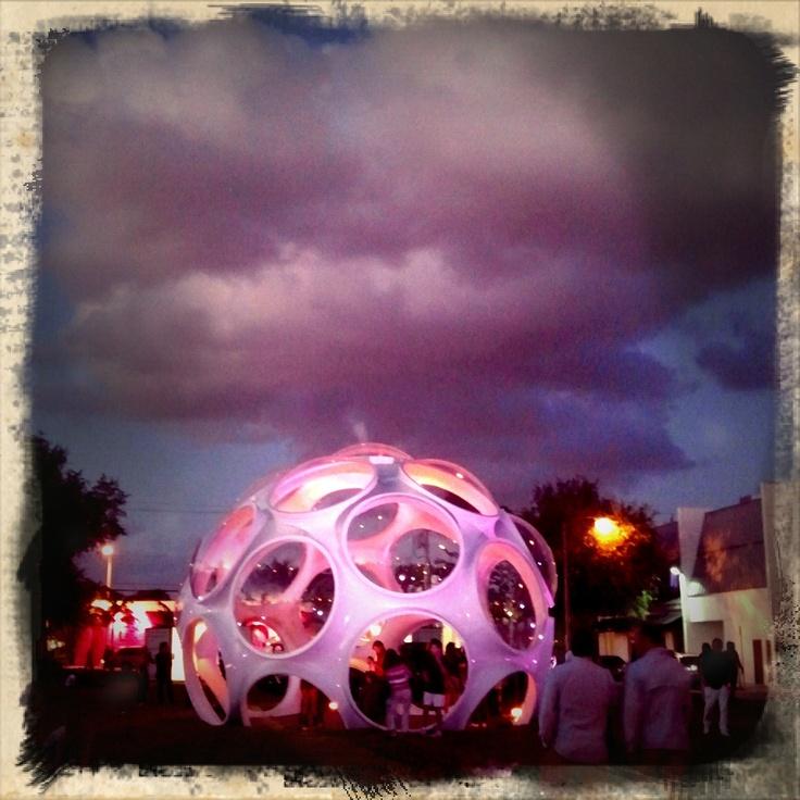 Buckminster Fuller's Fly Eye in Miami
