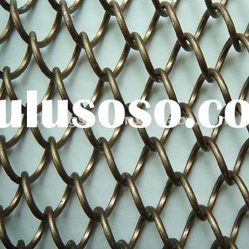 Metal Mesh Screen,woven wire drapery,mesh screen