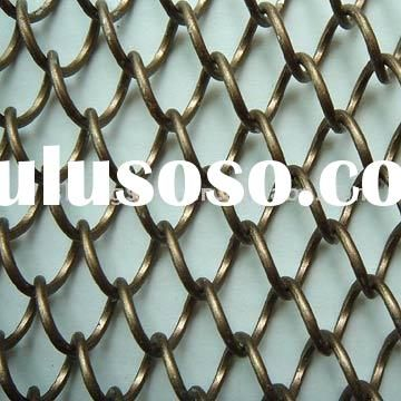Metal Mesh Screen,woven wire drapery,mesh screen