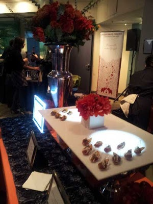 table display for food service