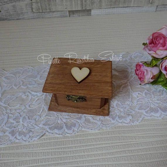 Rustic Wedding Ring Bearer Box Wedding Ring Box Rustic Ring