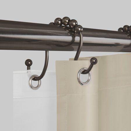 Home In 2020 Better Homes Gardens Shower Curtain Hooks Shower Rod