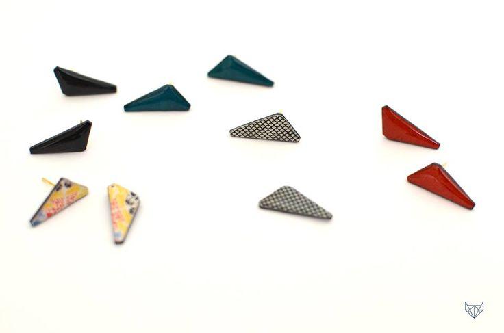paper jewelry earrings
