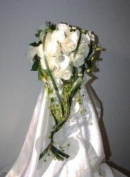 Brautstrauss Rosen und Callas bridebouquet with calla lily and roses
