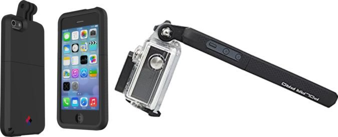 Proview-Gopro Cell Phone Mount Front, Back And Side Views Attached To iPhone http://coolpile.com/gadgets-magazine/proview-gopro-iphone-mount-polarpro via coolpile.com  #BePrepared #Cool #Gear #Gifts #GoPro #iPhone #LCD #Samsung #VideoRecorder #coolpile