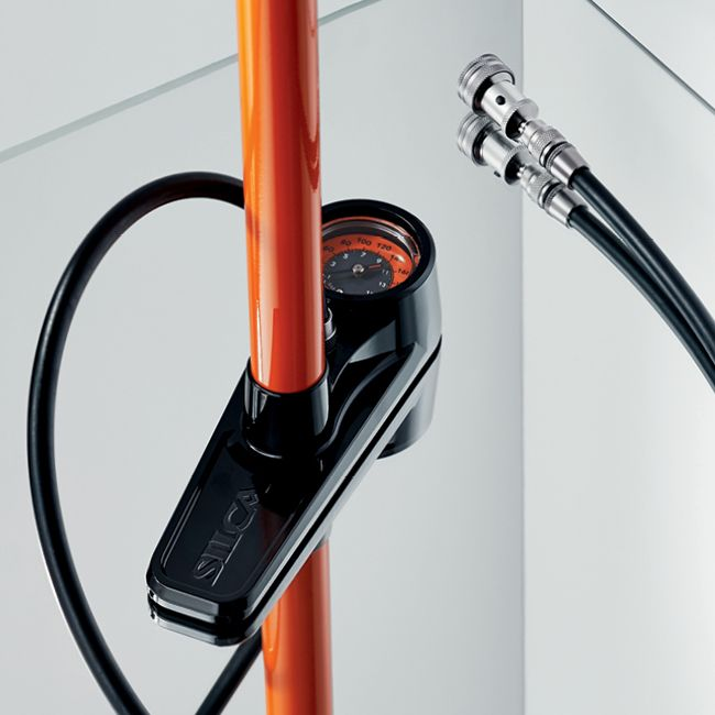 Silca Pista Floor Pump https://www.bicycling.com/bikes-gear/tested/18-for-2018-best-cycling-gear/slide/14