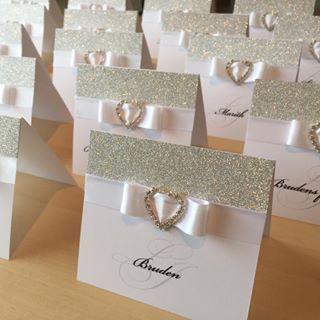 hjemmelagde bordkort bryllup