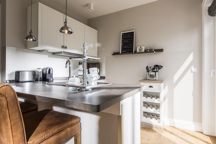 In solch einer Ferienwohnung macht das Kochen richtig Spaß - hier stimmt einfach alles - Kamphof Usedom
