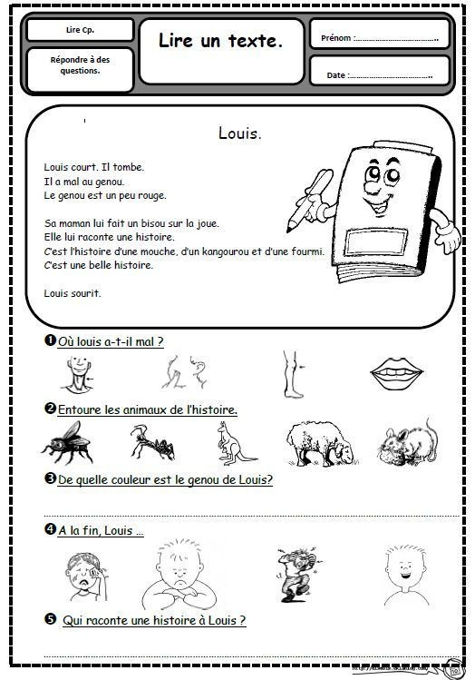 Petits textes pour travailler la lecture et la compréhension en CP - Dix mois