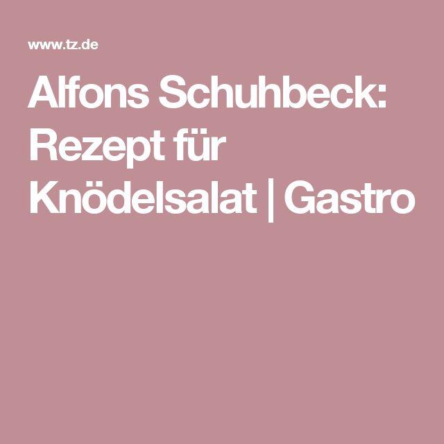 Alfons Schuhbeck: Rezept für Knödelsalat | Gastro