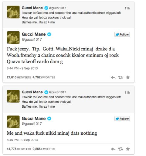 Gucci Mane Quotes Twitter
